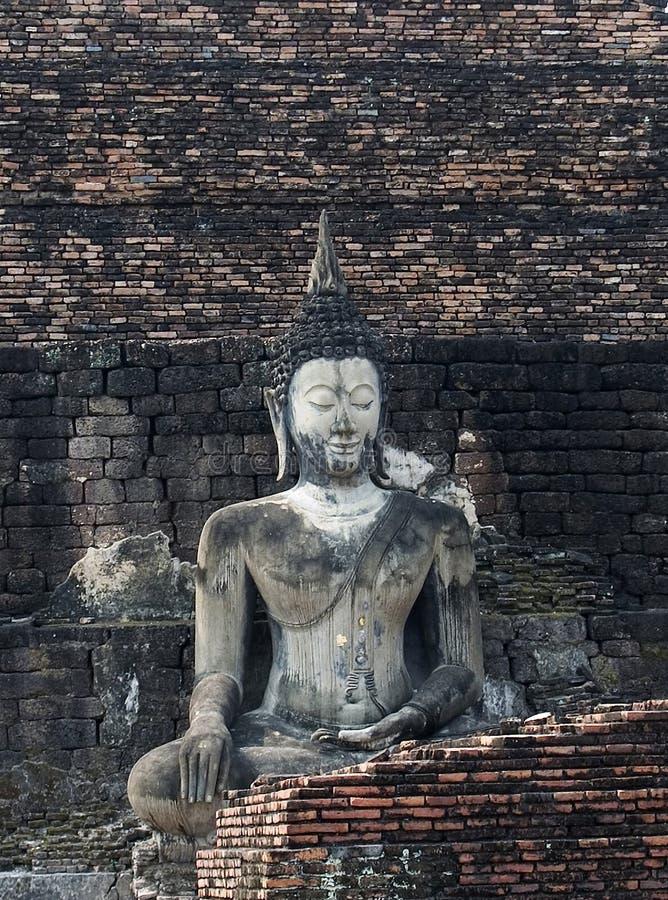 Buddha Di Seduta Fotografia Stock Libera da Diritti