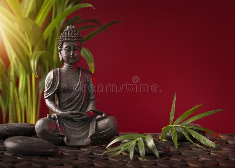 buddha diagram sitting royaltyfria foton