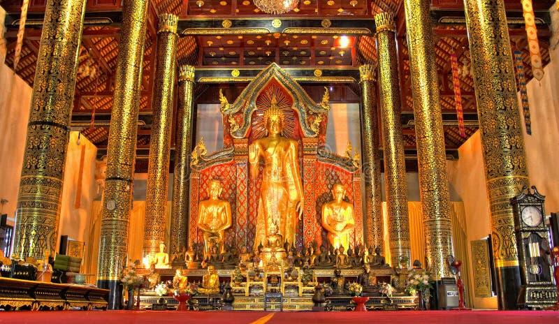 Buddha dorato fotografie stock libere da diritti