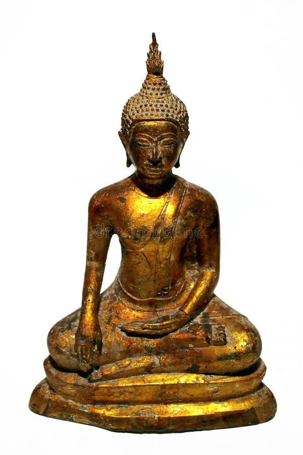 Download Buddha dorato immagine stock. Immagine di buddhism, inginocchiamento - 350681