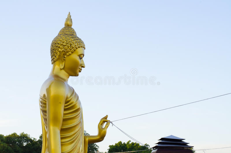 Buddha dourado fotos de stock royalty free
