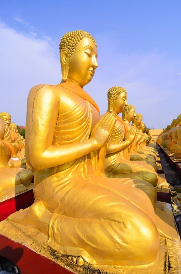 Buddha dourado imagem de stock royalty free