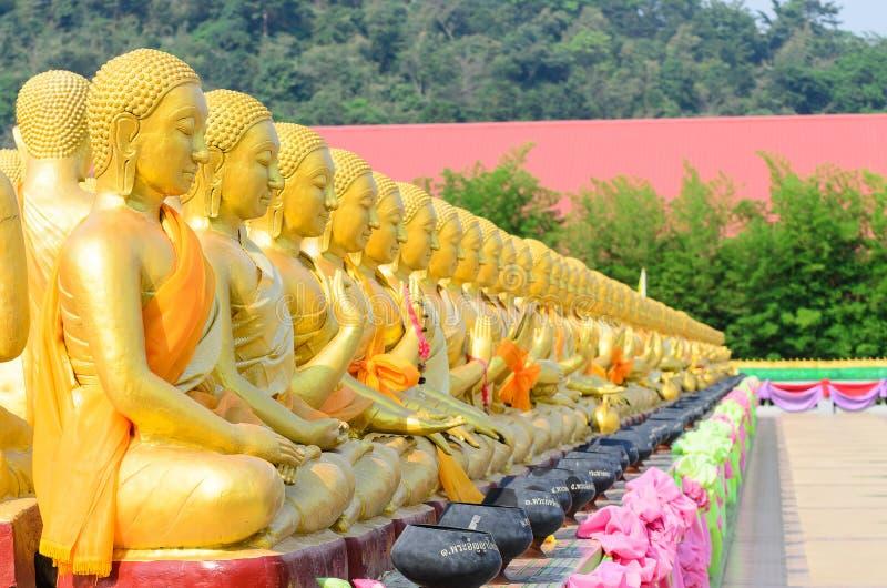 Buddha dourado fotos de stock