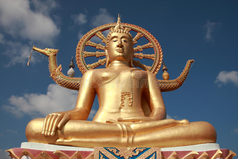 buddha duży samui Thailand zdjęcia stock