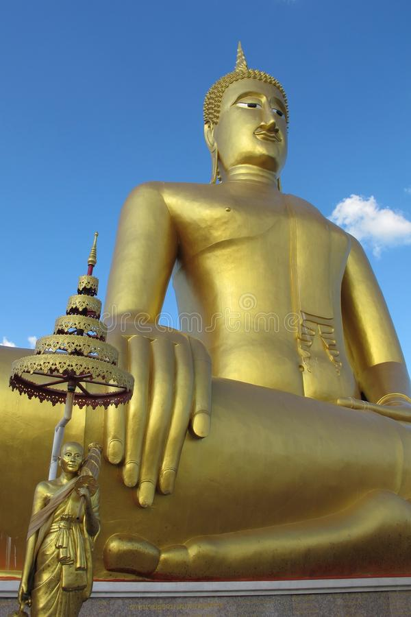 Buddha Duży Wizerunek obrazy stock