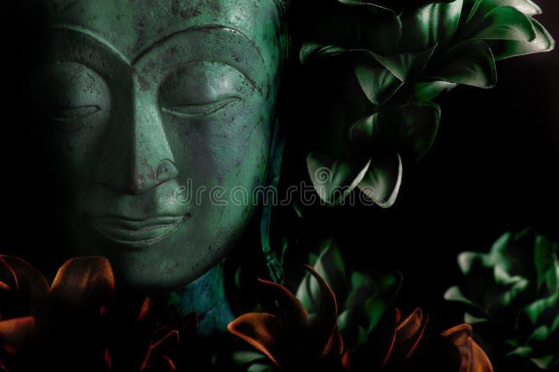 Buddha e chiarimento fotografia stock libera da diritti