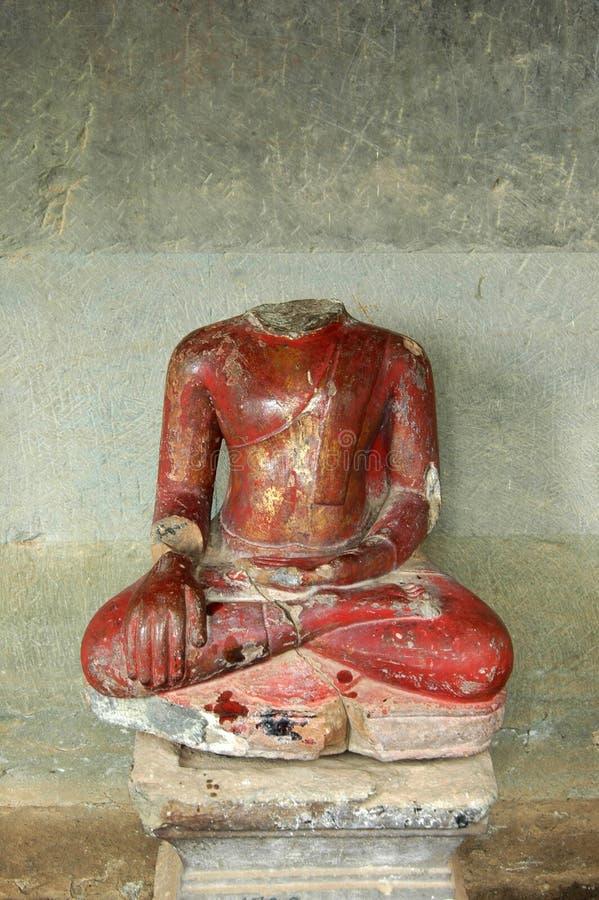 Buddha em Angkor Wat fotografia de stock royalty free