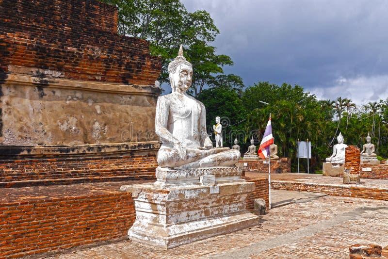 Buddha en Ayutthaya tailandia foto de archivo libre de regalías