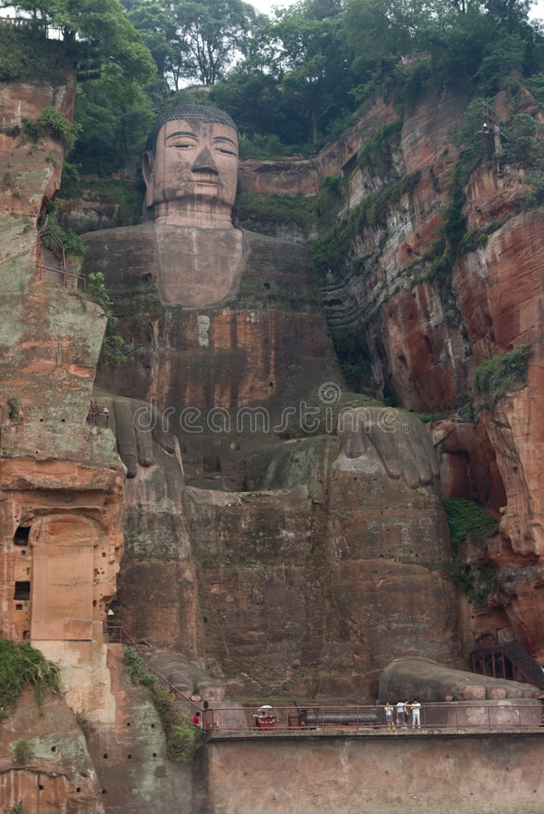 Buddha enorme imagem de stock royalty free