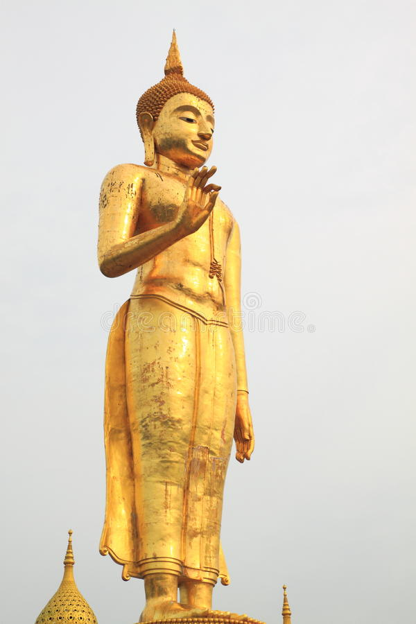 Download Buddha estando imagem de stock. Imagem de buddha, holy - 16858541