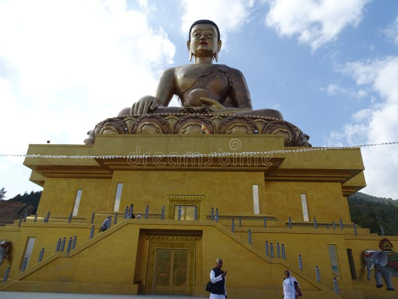 BUDDHA/EXPLORE/STATUE/ arkivbild