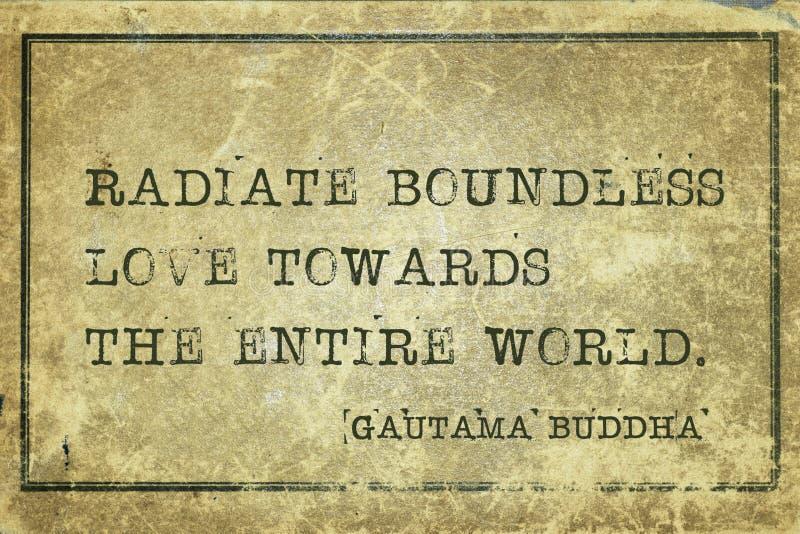 Buddha för hel värld royaltyfria bilder