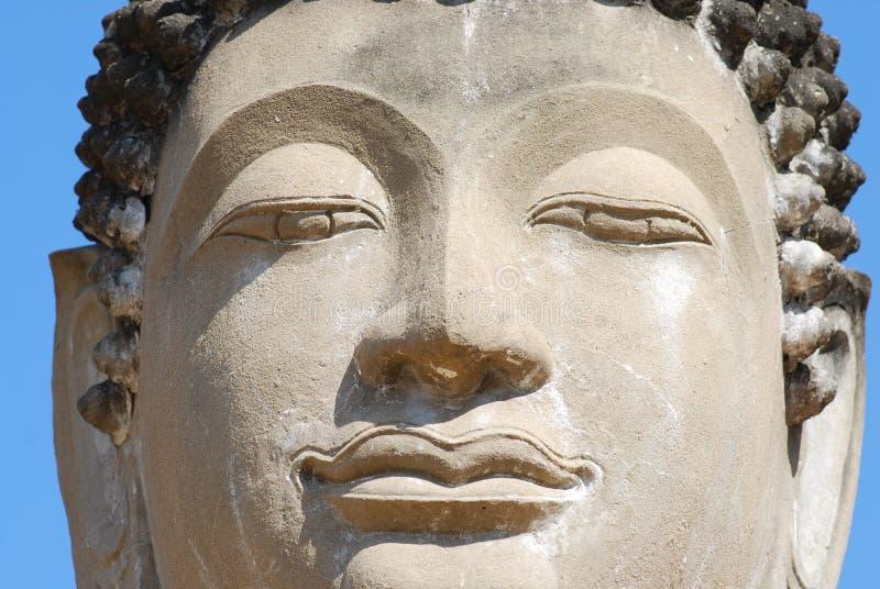 Download Buddha Face stock photo. Image of spiritual, orient, statue - 12026926