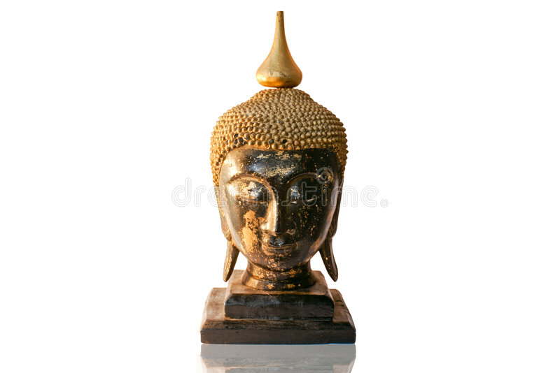 Buddha-Fehlschlag lizenzfreies stockfoto