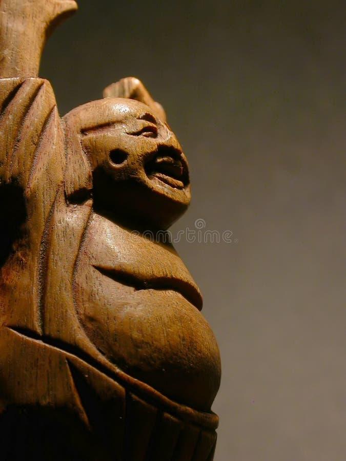 Buddha feliz imagem de stock royalty free