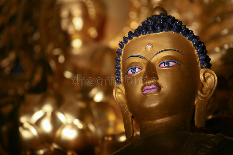 Buddha figure stock image