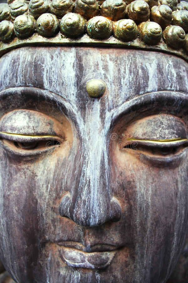 buddha framsida arkivbilder