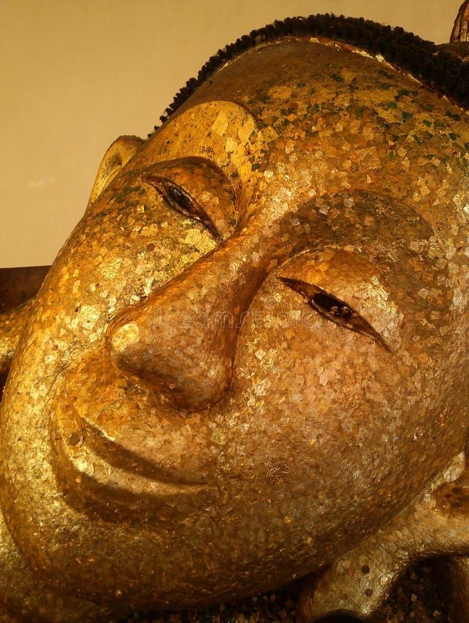 buddha framsida royaltyfri fotografi