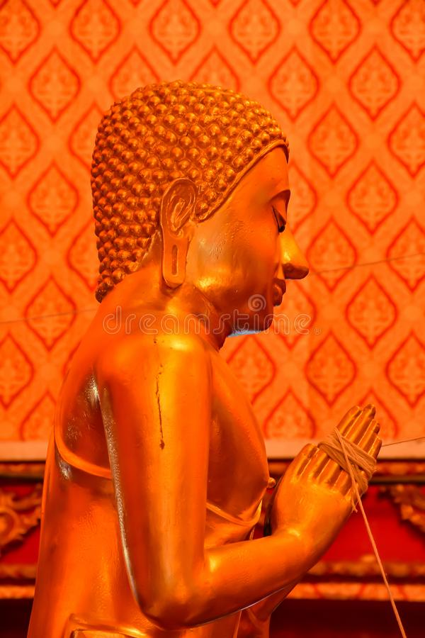 buddha framsidastaty arkivbild