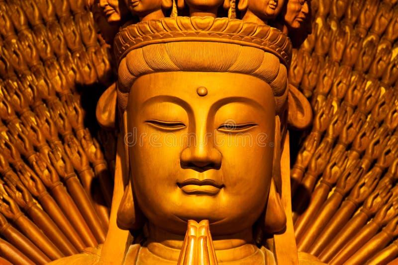 buddha framsidor royaltyfria bilder
