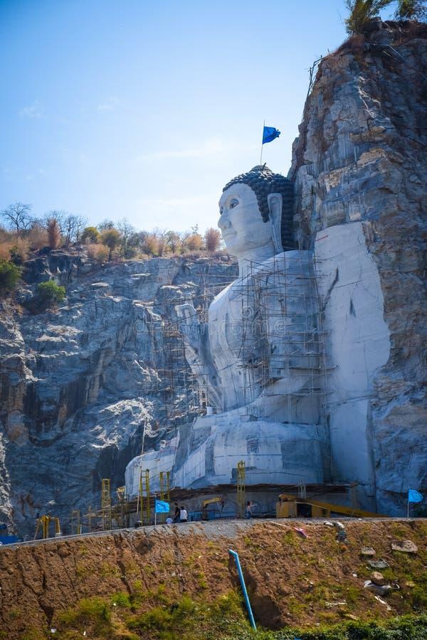 Buddha góra zdjęcia stock