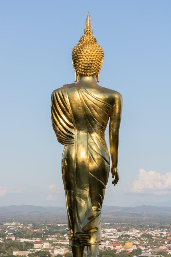 buddha góry pozycja obrazy stock