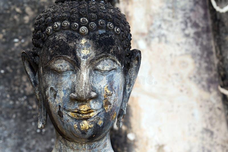Buddha głowy szczegół zdjęcie stock