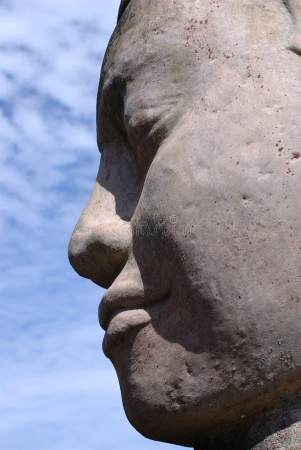 Buddha-Gesicht Lizenzfreie Stockbilder