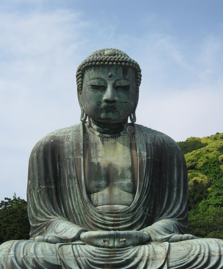 buddha gigant zdjęcie royalty free