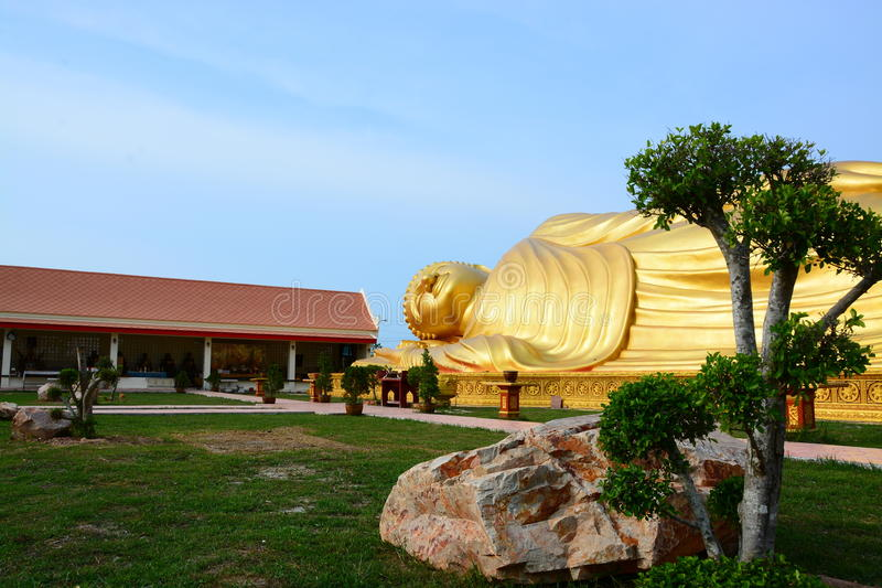 Buddha gold in thailand royalty free stock photography