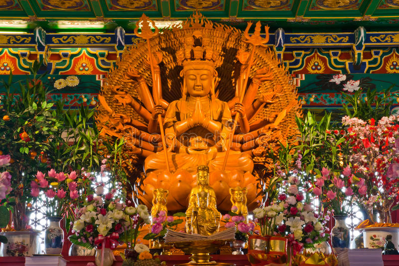 Download Buddha Golden statue stock photo. Image of china, face - 20092060