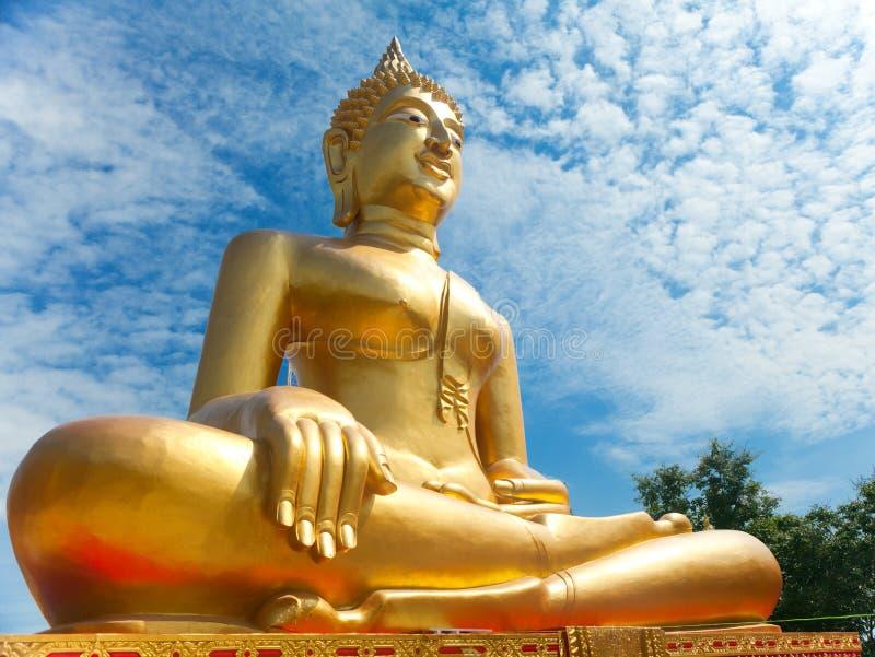 Buddha grande. Pattaya, Tailândia. fotos de stock royalty free