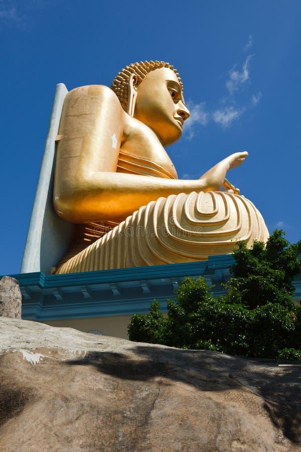 buddha guld royaltyfri fotografi