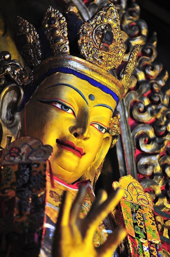 buddha guld- bilder arkivfoto