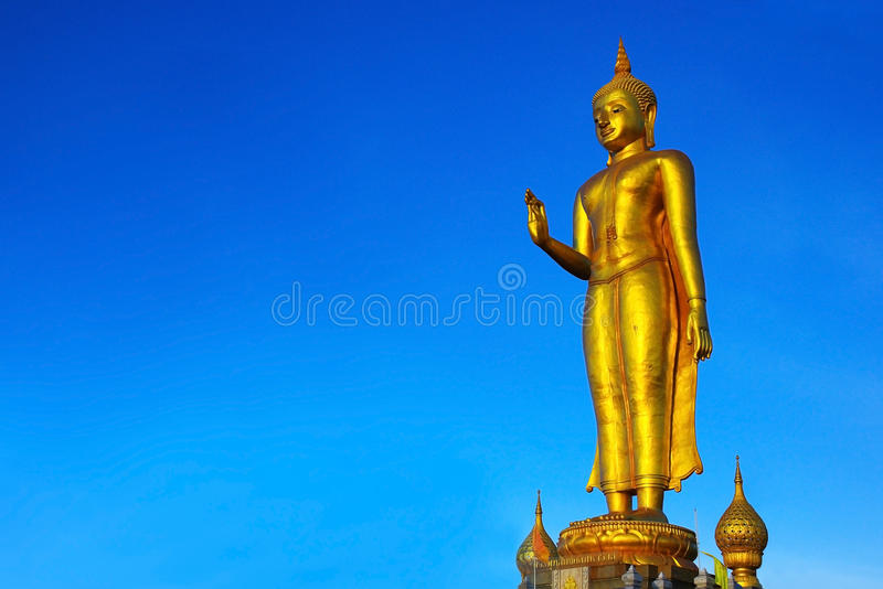Buddha. At Hatyai, SongKha, Thailand stock images