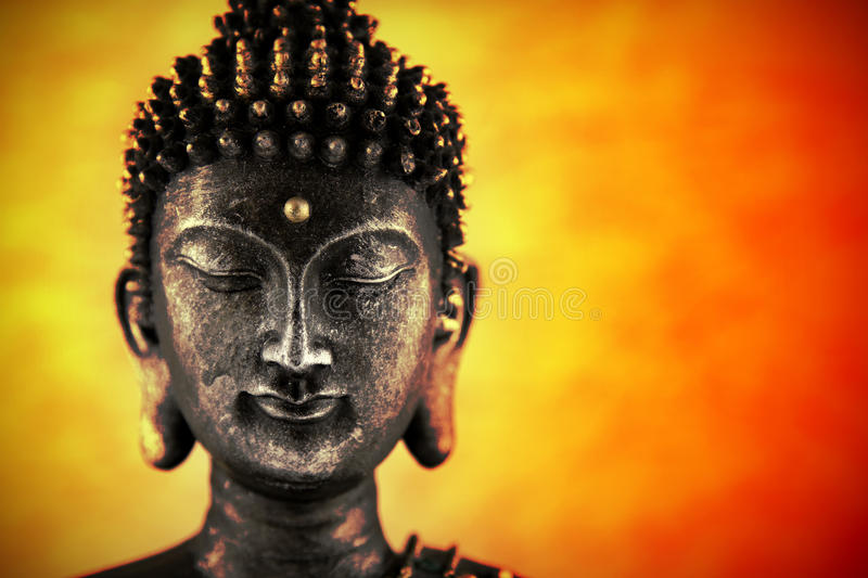 Download Buddha head stock image. Image of lips, powerful, enlightenment - 16593475
