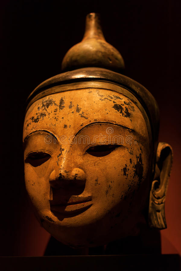 Buddha head stock photography