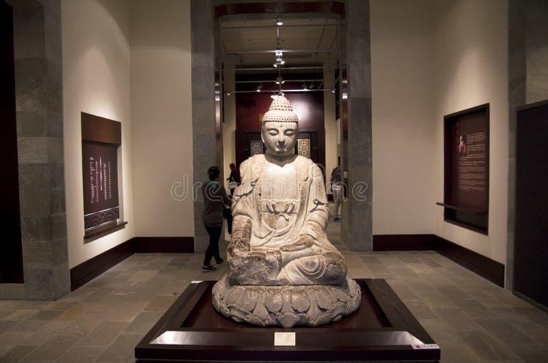 Buddha in Hong Kong Heritage Museum royalty free stock photo