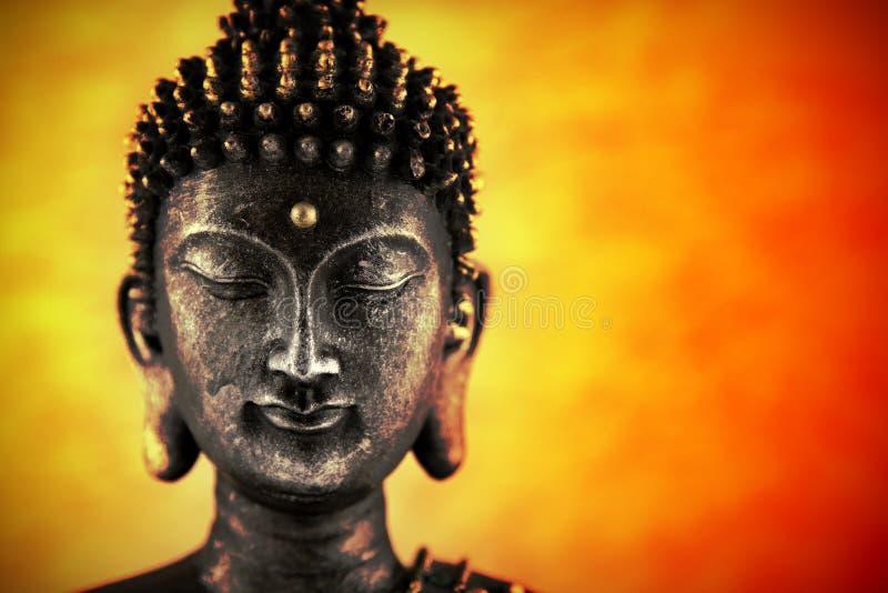 buddha huvud royaltyfri foto