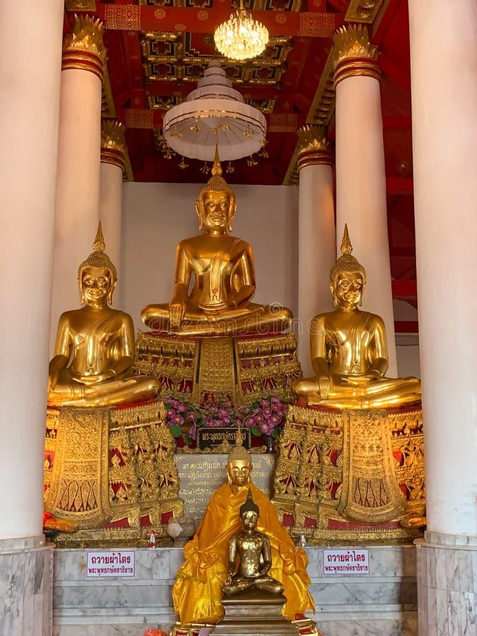 The Buddha image background stock image