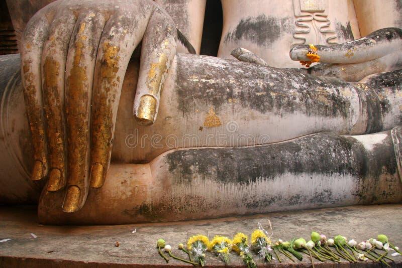 Buddha image, Sukhothai: Historical park. Buddha image, Thailand, Sukhothai: Historical park royalty free stock image
