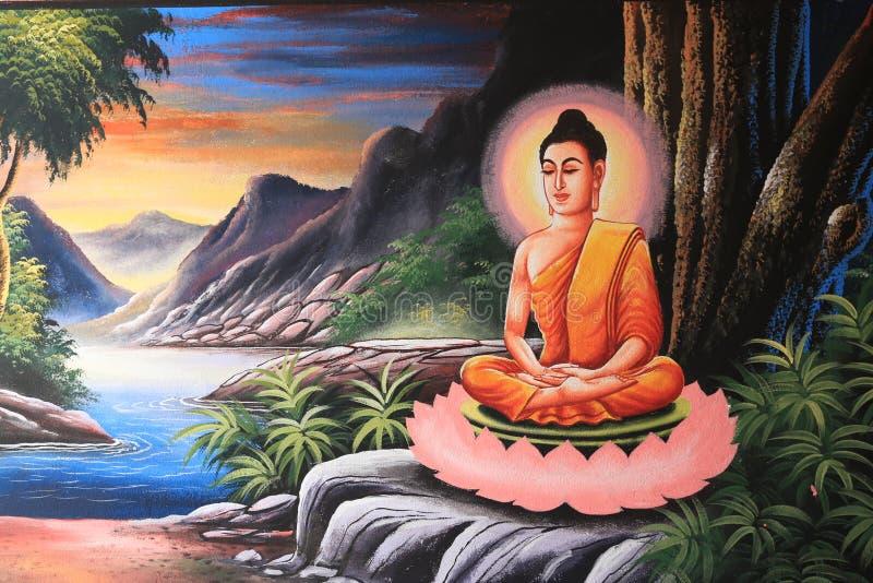 Buddha image in Thai style. Gautama Buddha, also known as Siddhārtha Gautama,Shakyamuni, or simply the Buddha, was a sage on whose teachings Buddhism was stock photo