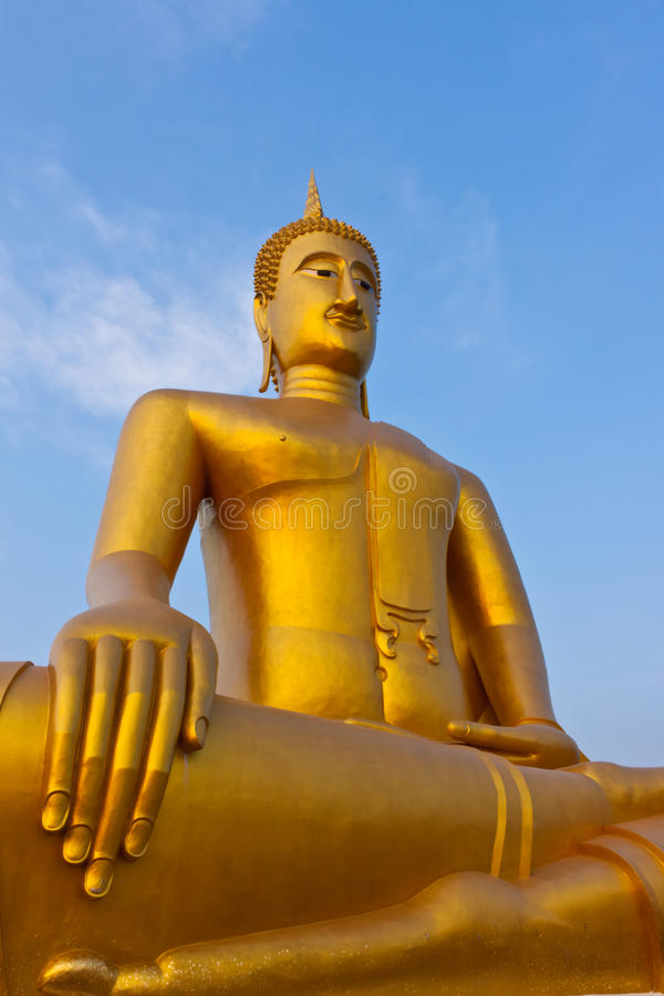 Free Buddha In The Temple. Of ,Bangkok Royalty Free Stock Images - 20549199