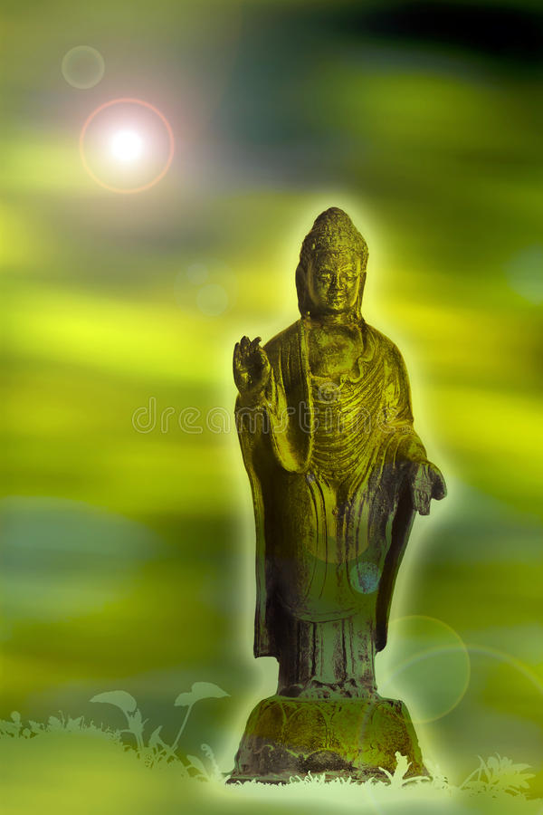 Buddha insikt arkivbild