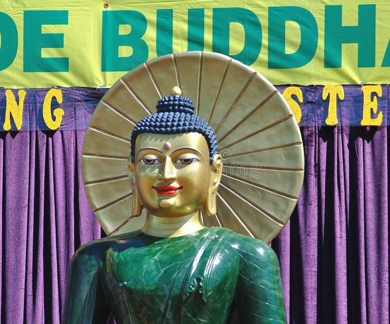 buddha jade arkivbilder