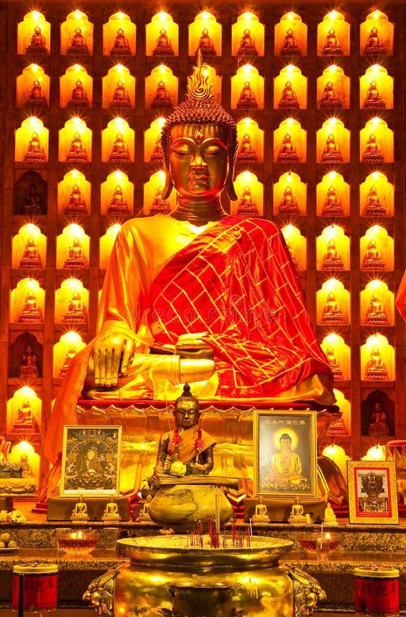 buddha kinesisk bildstil fotografering för bildbyråer