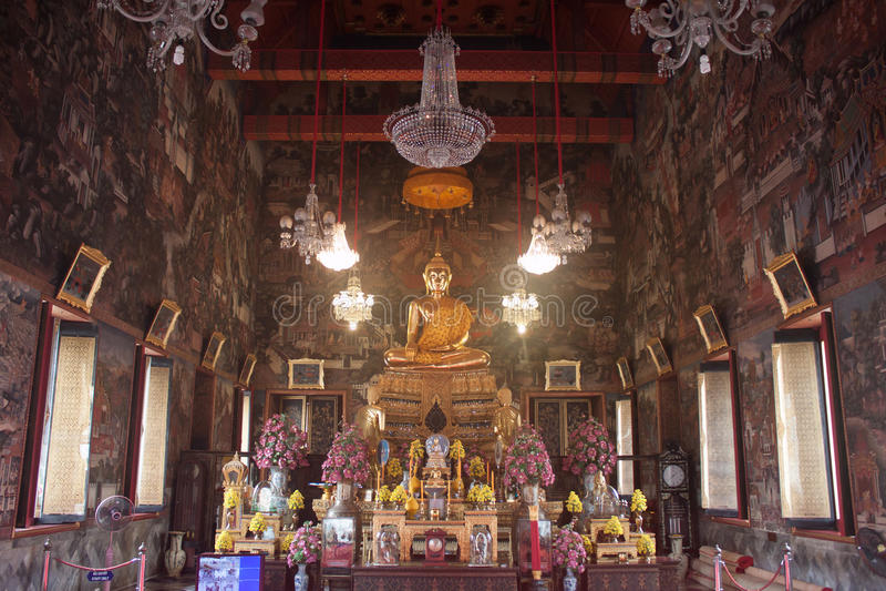 Buddha am Komplex von Wat Arun stockbilder