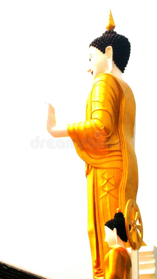Buddha. The life of the Buddha, the & x22;One Who is Awake& x22; to the nature of reality, begins 2600 years ago in India stock photos