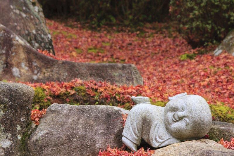buddha little royaltyfria foton