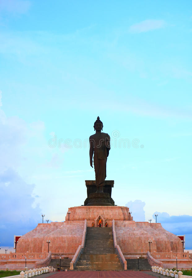 Buddha on Lotus royalty free stock photography